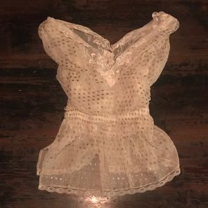 FREE PEOPLE Star Lace Top